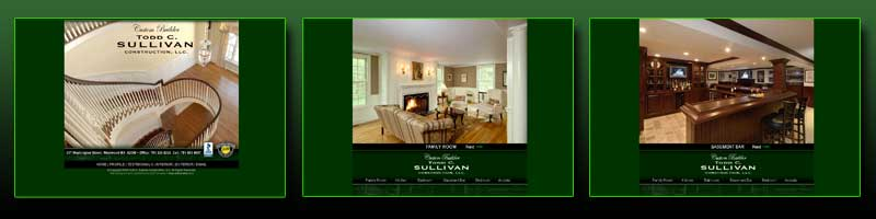 Todd Sullivan Construction Web Pages